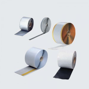 Butyl sealing tapes